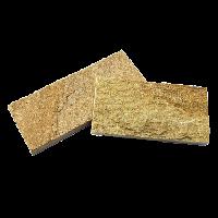 """Плитка Златолит """"Золото Инков"""", золотисто-желтая, без закола, толщина 15-25 мм"""