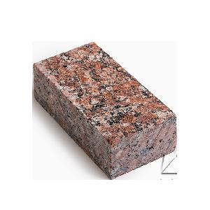 Брусчатка из гранита Капустинский / Россо Сантьяго (Rosso Santiago GR1) 200х100х50 полнопиленая с термообработкой