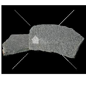 """Плитняк """"Златолит серый"""" 3-4 см"""