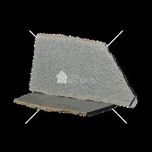 """Плитняк """"Златолит серый"""" 5 см"""