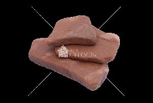 """Плитняк песчаник  """"Серо-зеленый"""" галтованный термо  2 см"""