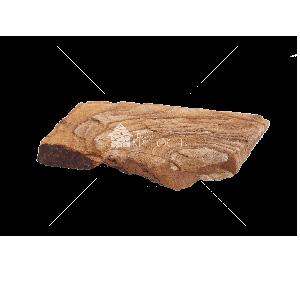 """Плитняк песчаник """"Тигровый"""" 2 см"""