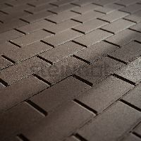 Тротуарная плитка 200х100 брусчатка 60 мм