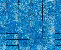 "Тротуарная плитка ""Классико"" фактура Листопад, цвет: Арктика, толщина 6 см"