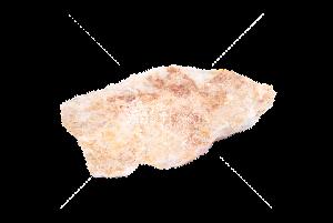 "Мрамор ""Оранжево-белый"" глыбы 20-50 кг"