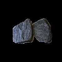 Сланец златолит черный галтованный 2,5-3,5 см