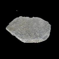 Плитняк Златолит серый (Серицит) галтованный 2,5-3,5 см