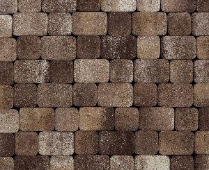 """Тротуарная плитка """"Классико"""" фактура Листопад, цвет: Хаски, толщина 6 см"""