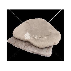 """Плитняк песчаник  """"Серо-зеленый"""" галтованный  2 см"""