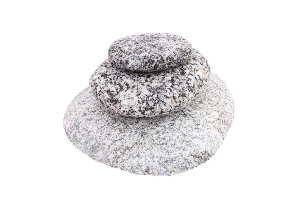 Галька речная лепешки 5-15 см