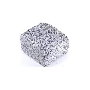Покостовское (Grey Ukraine GG2) гранит брусчатка колотая 10х10х5 см