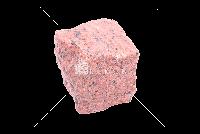 Лезниковское (Maple Red GR6) гранит брусчатка колотая 10х10х10 см
