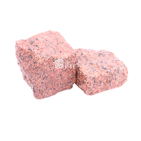 Лезниковское (Maple Red GR6) гранит брусчатка колотая 10х10х5 см