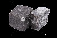 Габбро Слипчицкое (Kometa Black GB2), Адамовское гранит брусчатка 10х10х5 см