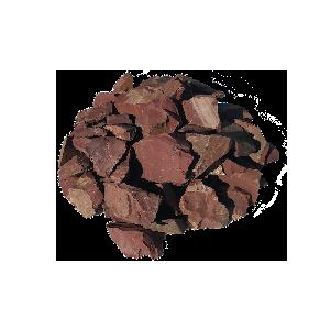 Каменая крошка красная из Яшмы фракция 20-40 мм