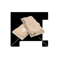 """Плитка песчаник """"Серо-зеленый"""" скала 20х10х2 см"""