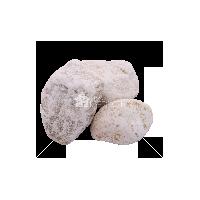 """Мрамор """"Белый"""" галтованый фракция 60-100 мм"""