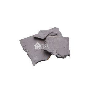 """Камень для облицовки Сланец """"Графит"""" черный 1,5-2,5 см"""