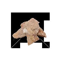"""Плитняк песчаник """"Дракон"""" коричневый 3-4 см"""
