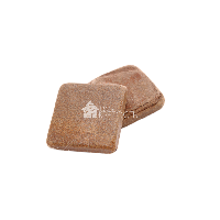 "Плитка песчаник ""Бежевый"" галтованный 10х10х2 см"