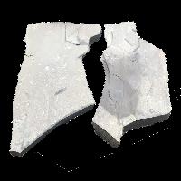 Большие плиты из песчаника от 50 до 300 кг шт, толщина от 6 до 12 см