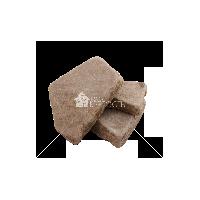 """Плитняк песчаник """"Бежево-серый"""" галтованный 3 см"""