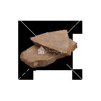 """Плитняк песчаник """"Серо-коричневый"""" 2 см"""