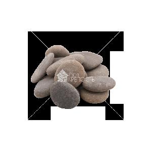 Галька морская серая Каспийская (плоская) фракция 5-10 см