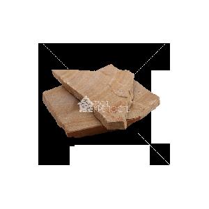 """Плитняк песчаник """"Радуга"""" с разводами 2 см"""