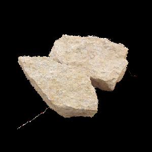 Природный камень Известняк Медовый для подпорной стенки