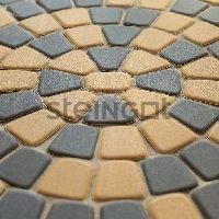 Тротуарная плитка Классика круговая 60 мм