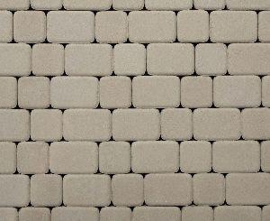 """Тротуарная плитка """"Классико"""" гладкая, цвет: белый, толщина 6 см"""
