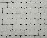 """Тротуарная плитка """"Классико"""" стоунмикс, цвет: белый, толщина 6 см"""
