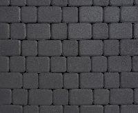 """Тротуарная плитка """"Классико"""" гладкая, цвет: черный, толщина 6 см"""