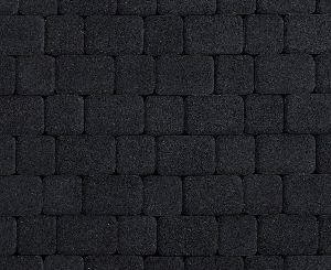 """Тротуарная плитка """"Классико"""" стоунмикс, цвет: черный, толщина 6 см"""