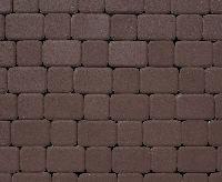 """Тротуарная плитка """"Классико"""" гладкая, цвет: коричневый, толщина 6 см"""