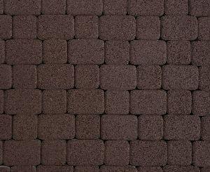 """Тротуарная плитка """"Классико"""" гранитная фактура, цвет: коричневый, толщина 6 см"""