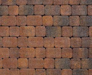 """Тротуарная плитка """"Классико"""" фактура Листопад, цвет: Арабская ночь, толщина 6 см"""