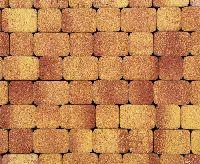 "Тротуарная плитка ""Классико"" фактура Листопад, цвет: Каир, толщина 6 см"
