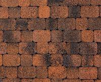 """Тротуарная плитка """"Классико"""" фактура Листопад, цвет: Мустанг, толщина 6 см"""