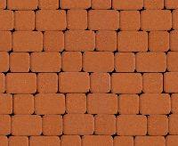 """Тротуарная плитка """"Классико"""" гладкая, цвет: оранжевый, толщина 6 см"""