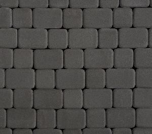 """Тротуарная плитка """"Классико"""" гладкая, цвет: серый, толщина 6 см"""
