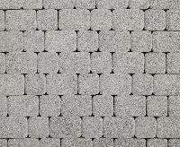 """Тротуарная плитка """"Классико"""" гранитная фактура, цвет: серый, толщина 6 см"""