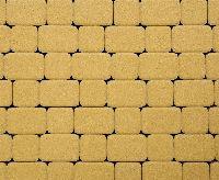"""Тротуарная плитка """"Классико"""" гладкая, цвет: желтый, толщина 6 см"""