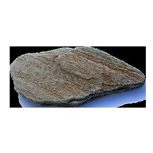 Камень для дорожек Сланец Кора Дерева галтованный 2-3 см