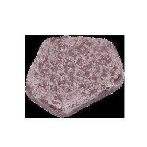 Лемезит Бордо галтованный 3 см