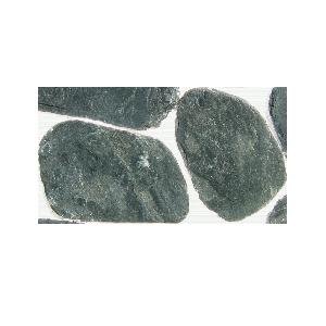 Камень для дорожек Сланец Малахит галтованный 2-3 см
