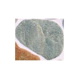 Плитняк Златолит зеленый галтованный 2,5-3,5 см