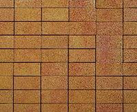 "Тротуарная плитка ""Классико"" фактура Листопад, цвет: Сахара, толщина 6 см"