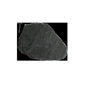 Камень для облицовки Сланец черный Графит галтованный 1,5-3 см